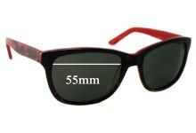 Spec Savers Sun Rx 108 Replacement Sunglass Lenses - 55mm wide