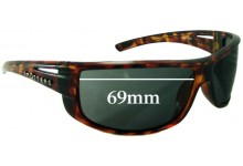Spotters Ink 0709 Replacement Sunglass Lenses - 69mm wide