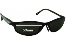 Tag Heuer TH 1003 Replacement Sunglass Lenses - 59mm Wide