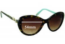 Tiffany & Co TF4059 Replacement Sunglass Lenses - 54mm Wide