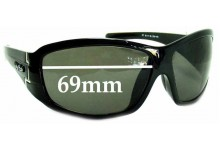 Ugly Fish Model PT6111 Replacement Sunglass Lenses - 69mm Wide