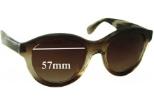 Vera Wang Vespera Replacement Sunglass Lenses - 57mm Wide