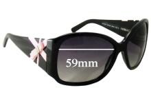 Versace MOD 4171 Replacement Sunglass Lenses - 59mm Wide