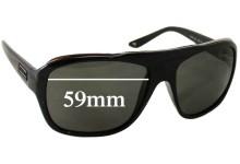 Versace MOD 4227 Replacement Sunglass Lenses - 59mm Wide