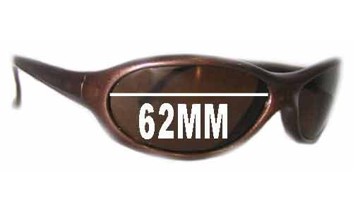 Vuarnet Pouilloux 033 Replacement Sunglass Lenses - 62mm wide