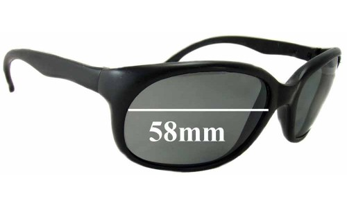 Vuarnet Pouilloux France New Sunglass Lenses - 58mm wide 42mm tall