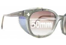 American Optics AO Flexi Fit 6M Z87 Replacement Sunglass Lenses - 50mm wide