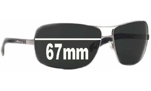 AN3045 Arnette Lock Up Replacement Sunglass Lenses - 67mm Wide