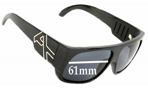 Anon Hombre Replacement Sunglass Lenses - 61mm Wide