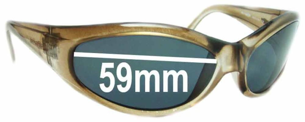Arnette Deuce AN212 Replacement Sunglass Lenses - Lens Width 59mm