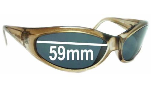 Sunglass Fix Replacement Lenses for Arnette Deuce AN212 - Lens Width 59mm