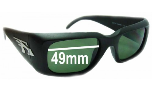 Arnette Dirty Harry AN215 Replacement Sunglass Lenses - 49mm Wide