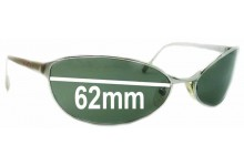 Arnette Steel Swingers AN3002 Replacement Sunglass Lenses - 62mm Wide