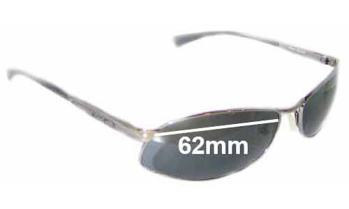 Arnette AN3036 Metal Frame New Sunglass Lenses - 62mm wide
