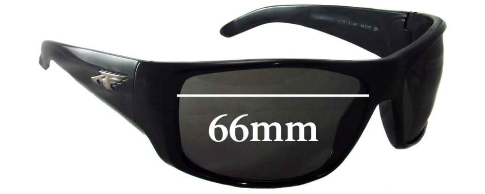 Arnette AN4179 La Pistola Replacement Sunglass Lenses- 66mm wide