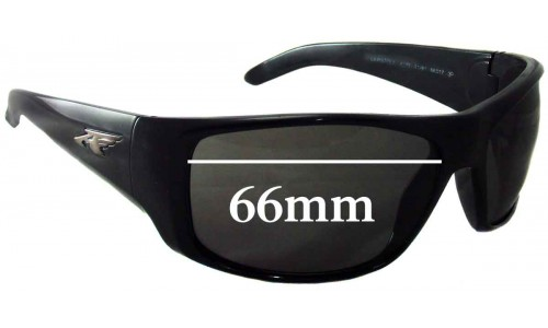 Arnette AN4179 La Pistola Replacement Sunglass Lenses- 66mm wide