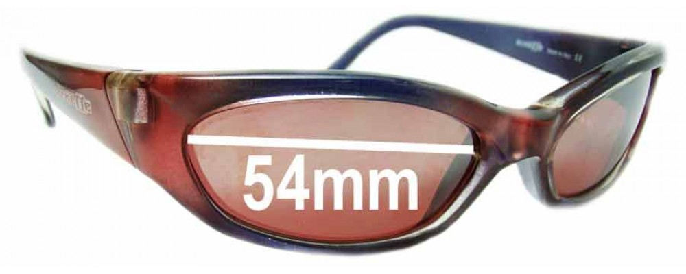 Arnette Nomad AN127 Replacement Sunglass Lenses - 54mm Wide