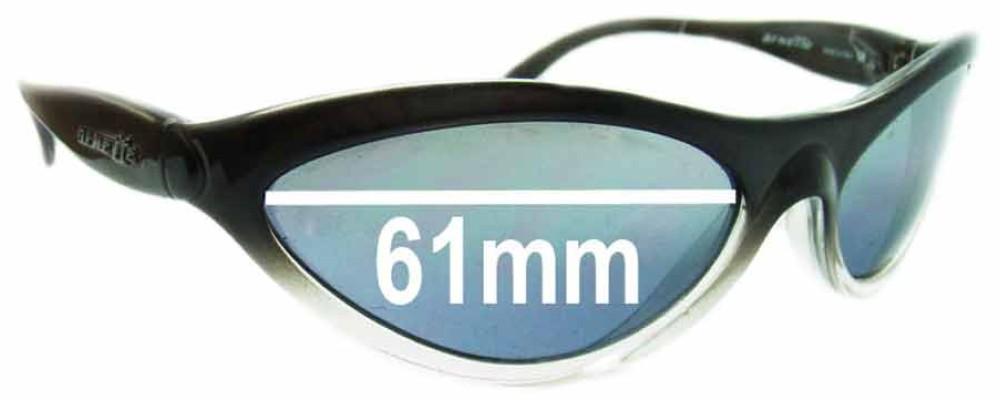 Arnette AN203 Hawk Replacement Sunglass Lenses - 61mm Wide