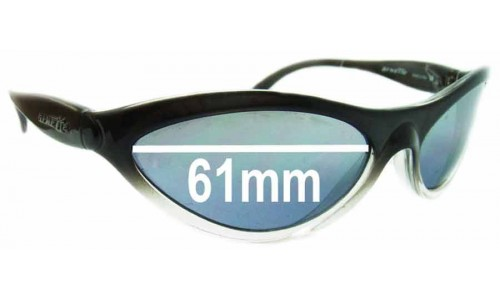 Arnette AN203 Hawk Replacement Sunglass Lenses - 61mm Wide