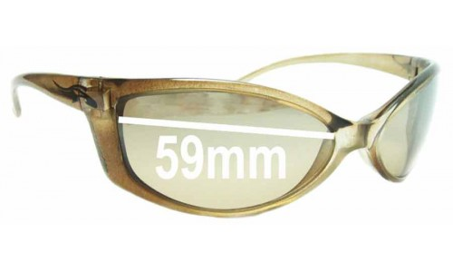 Arnette Mini Swinger AN4016 Replacement Sunglass Lenses - 59mm Wide