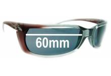 Arnette Matik AN4034 Replacement Sunglass Lenses - 60mm wide