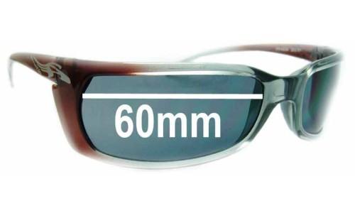 Arnette Matik AN4034 Sunglass Replacement Lenses - 60mm wide