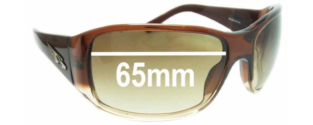 Arnette High Roller AN4065 Replacement Sunglass Lenses - 65mm wide