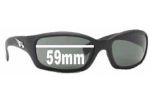 Arnette Manifesto AN4068 Replacement Sunglass Lenses - 59mm wide 35mm high
