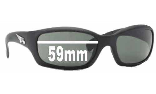 Arnette Manifesto AN4068 Replacement Sunglass Lenses - 59mm wide 35mm high