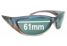 Arnette Vandal AN4069 Replacement Sunglass Lenses - 61mm wide