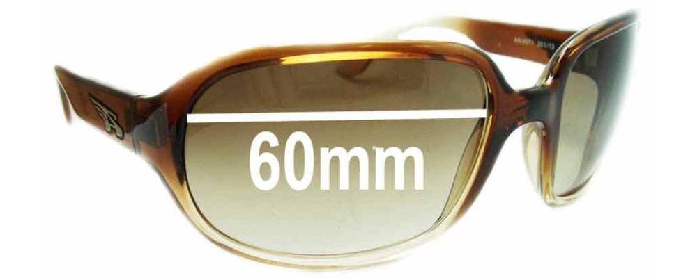 Arnette Degree AN4071 Replacement Sunglass Lenses - 60mm Wide