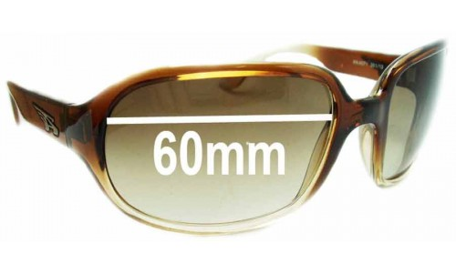 Arnette Degree AN4071 Replacement Sunglass Lenses - 60mm Wide