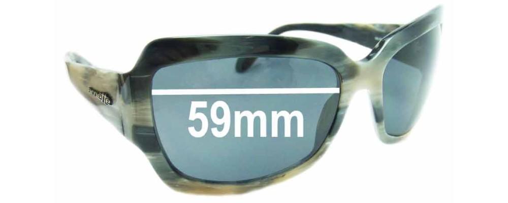 Arnette Countess AN4086 Replacement Sunglass Lenses - 59mm wide