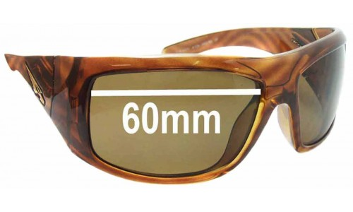 Arnette AN4109 The Anti Replacement Sunglass Lenses - 60 mm wide