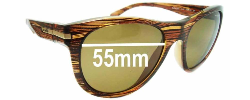 Arnette Blowout AN4142 Replacement Sunglass Lenses - Lens Width 55mm