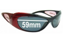 Arnette Elixir Replacement Sunglass Lenses - 59mm
