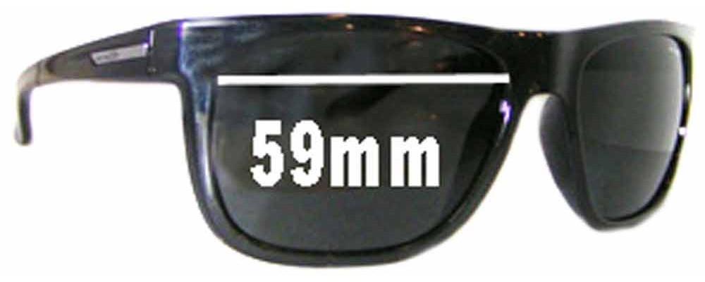 Arnette Arnette AN4143 Fire Drill Replacement Sunglass Lenses - 59mm Wide