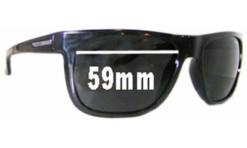 Arnette Arnette AN4143 Fire Drill Replacement Sunglass Lenses - 59mm Wide