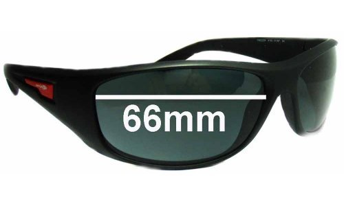 Arnette Freezer AN4155 Replacement Sunglass Lenses - 66mm wide