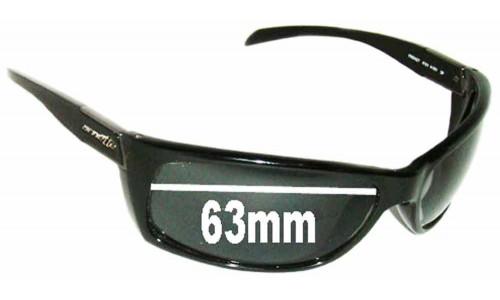 SFX Replacement Sunglass Lenses fits Arnette Frenzy AN4101 63mm Wide
