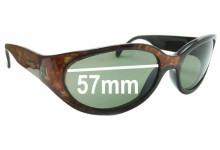 Arnette Hoodoo Replacement Sunglass Lenses - 57mm wide