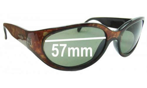 Arnette Hoodoo Replacement Sunglass Lenses - 57mm wide