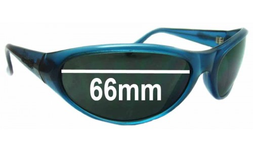 Arnette Ravens Replacement Sunglass Lenses - 66mm wide