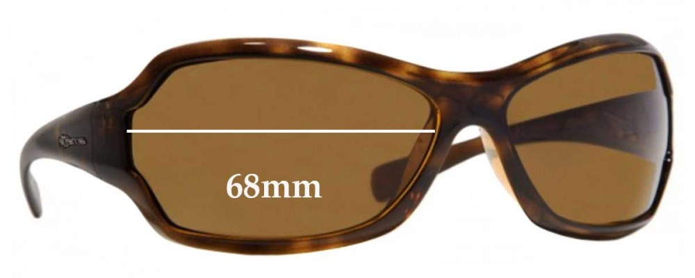 Arnette Royal AN4095 Replacement Sunglass Lenses - 68mm Wide