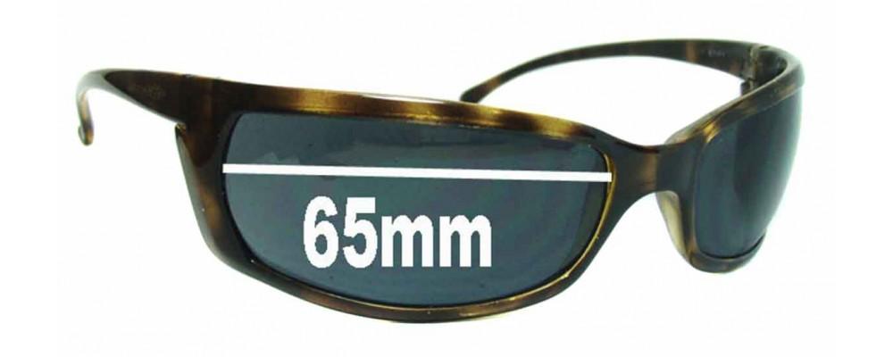 AN4007 Arnette Slides Slide Replacement Sunglass Lenses - 65mm wide