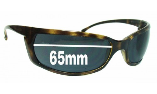 AN4007 Arnette Slides Slide Replacement Sunglass Lenses - 65mm wide