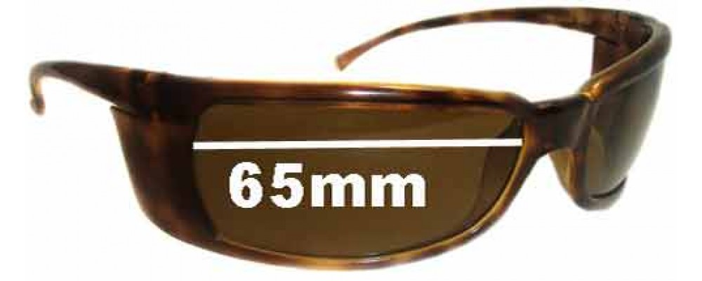 Arnette Titan AN4006 Replacement Sunglass Lenses - 65mm wide