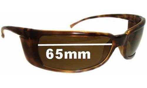 Arnette Titan AN4006 Replacement Sunglass Lenses - 65mm wide