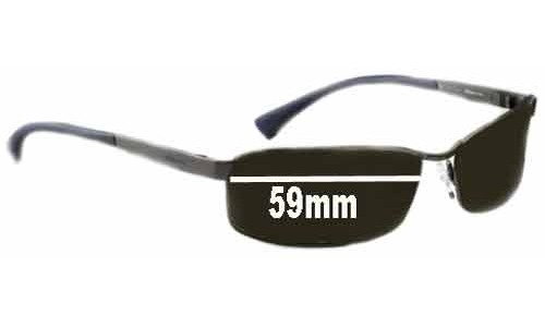 AN3016 Arnette Trooper Replacement Sunglass Lenses 59mm wide