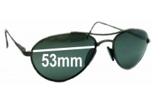 Arnette Vintage Aviators Replacement Sunglass Lenses - 53mm Wide